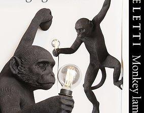 3D asset The Monkey Lamp Hanging Version