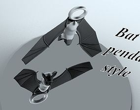 3D print model The Bat pendant