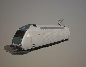 NSB El 18 Grey 3D model