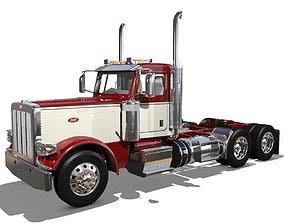 389 Day Cab Semi Truck 3D