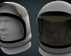3D asset Astronaut helmet gameready