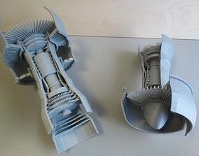 spool 3d printed jet engine