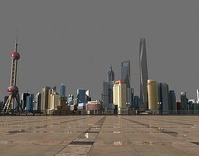 3D Shanghai Lujiazui2