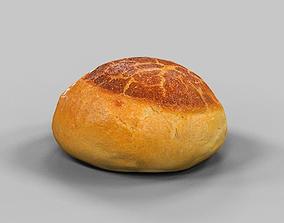 Pistolet Bread Roll 4 3D model