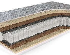 designer mattress 3d model