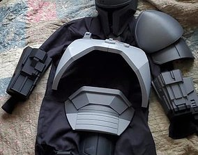 3D print model FULL Mandalorian heavy infantry armor 3