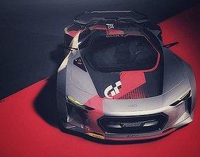 3D asset Audi FSS Quarantine concept