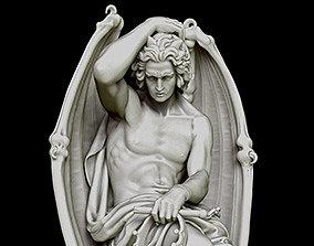 3D printable model The Genius of Evil