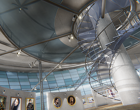 3D asset Picture gallery - showroom