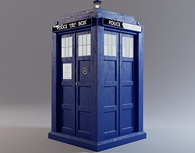 TARDIS - Exterior AND Interior - Smith and 3D model 1
