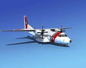 Casa CN-235 US Coast Guard 3D