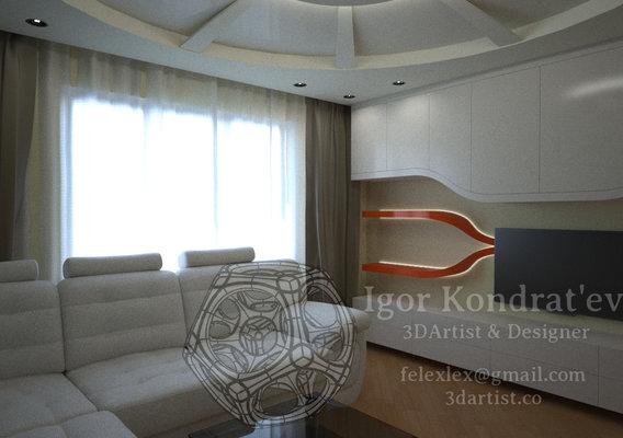 Interior small room