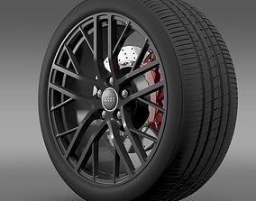 3D Audi R8 LMX 2014 wheel