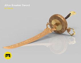 SINoALICE Alice Breaker Sword 3D print model