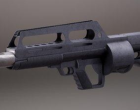 3D model Pancor Jackhammer Rigged PBR