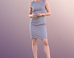 3D asset Juliette 10808 - Standing Business Woman