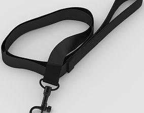 Black Long Leash 3D