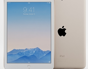 3D model Apple iPad Air 2 Gold wifi