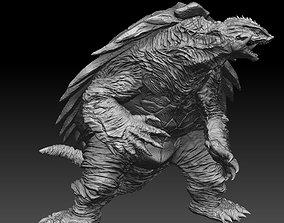 Creature Turtle Monster Sculpt HD Details 3D print model