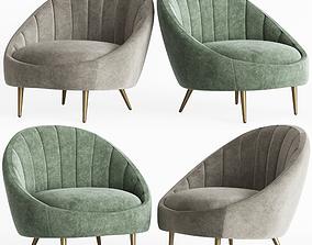 3D Ether Padded Armchair