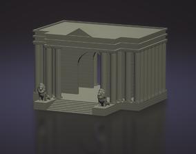 Saint Seiya Leo Temple - Templo Leo 3D printable model
