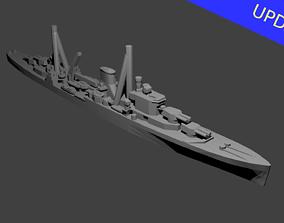 British Leander Class Cruiser Warship 3D printable model