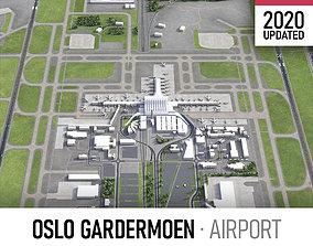 3D model Oslo Gardermoen Airport