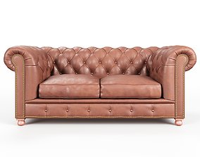 3D Sofa Chesterfield