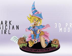 DARK MAGICIAN GIRL FIGURINE - YU-GI-OH - 3D print model 2