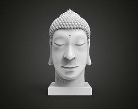 3D print model statue Buddha head