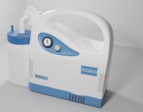 ASSKEA S30 - Medical Suction Device 3D asset