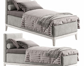 3D model SINGLE BED 20