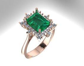3D print model Womens Diamond ring