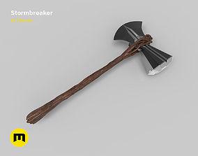 3D printable model Stormbreaker Thor Axe
