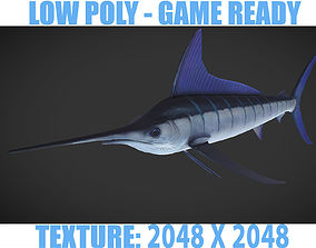 Swordfish 3D asset