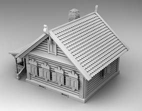Slavic house 3D printable model