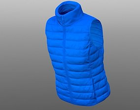 VR / AR ready Vest 3D model texture