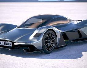 3D Aston Martin AM RB 001 2018