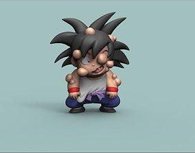 Goku training version 3D printable model games