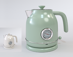 3D model Xiaomi Qcooker Electric Kettle Blender Cycles