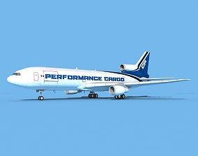 Lockheed L-1011 Perfomance Cargo 3D model