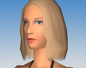 Female Character 02 3D asset