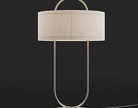 retro 3D model Modern table lamp