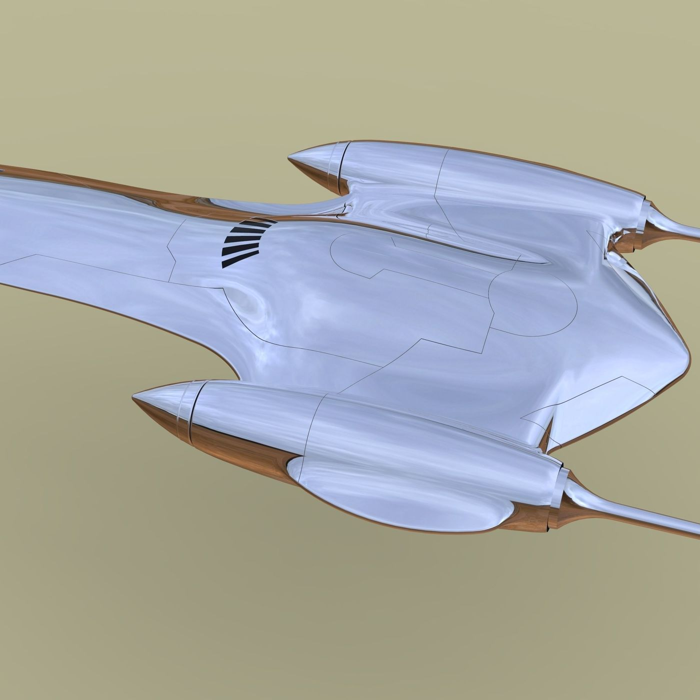 Naboo Queens Royal starship
