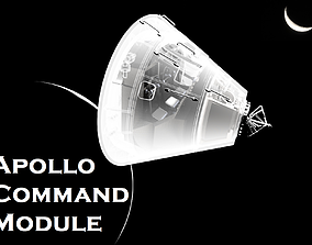 3D Apollo Command Module