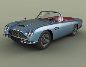 3D Aston Martin DB6 Volante