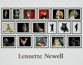 3D Lennette Newell - Enimals