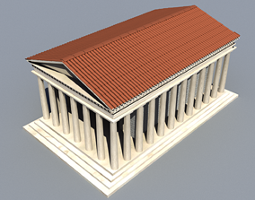 landmark Ancient Temple 3D