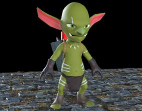 Goblin Miner 3D asset