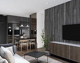 room 3D model Apartment